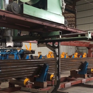 悬空式全自动钢带打包机,悬空式全自动钢管钢带打包机