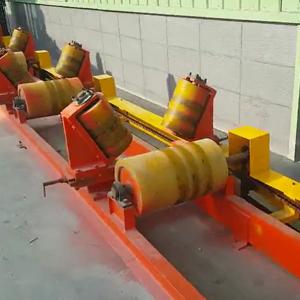 管材托辊,钢管侧辊