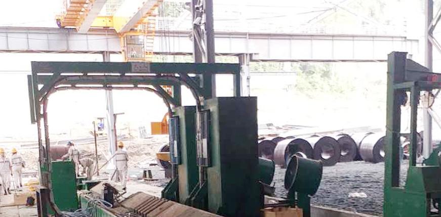大工人出口全自动钢带打包机