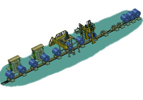 大工人冶金行业包装线
