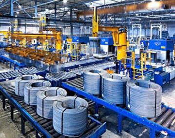 大工人全自动钢带打捆机打捆钢丝卷产品展示
